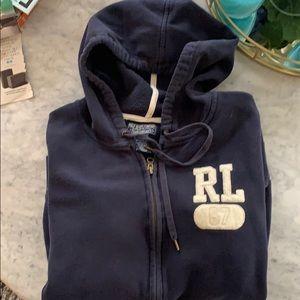 RL zip hoodie